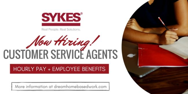 Sykes Home: A Work from Home Customer Service Job with Employee Benefits