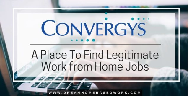 Convergys: A Place To Find Legitimate Work from Home Jobs