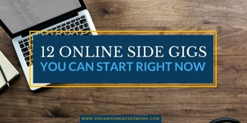 12 Online Side Gigs You Can Start Right Now