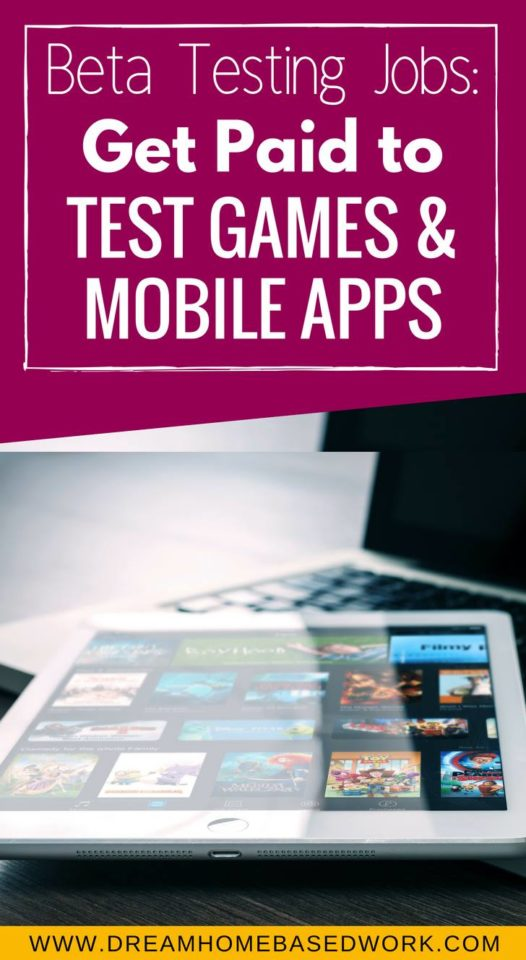 Beta Testing Jobs: Get Paid To Test Games and Mobile Apps