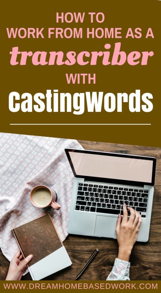 Looking for a legit online typing job? CastingWords is one of those companies that will pay you to work from home as a transcriber.