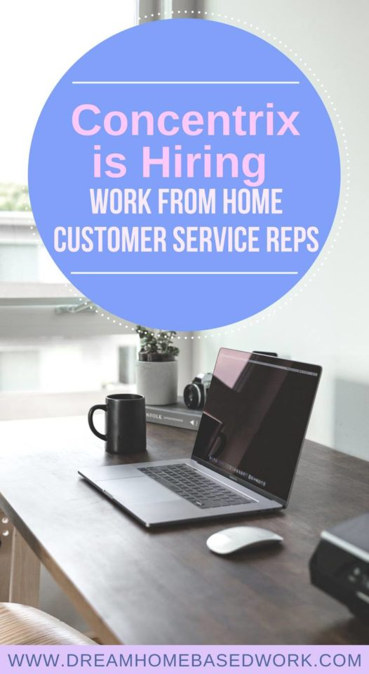 Concentrix is Hiring Work From Home Customer Service Reps