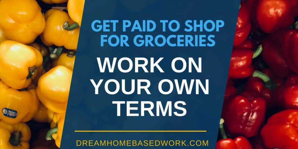 Not everyone enjoys grocery shopping. This is why you can get paid to shop for groceries and work flexibly to make a part or full-time income. Great side gig for stay at home moms, teens, freelancers, introverts, and more