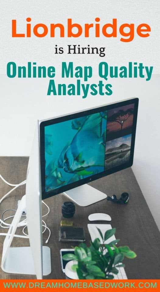 Lionbridge is actively hiring Online Map Quality Analysts. If you are looking for a non phone work from home job,, this #job is perfect for you!