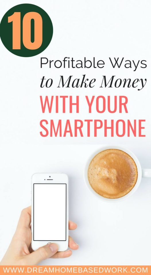 Do you love free smartphone apps? Here are 10 of the best smartphones apps you can use to make extra money in a flexible way.
