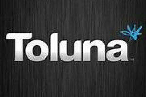 Toluna black logo