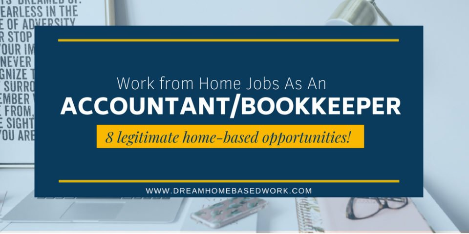 Freelance bookkeeping jobs from home