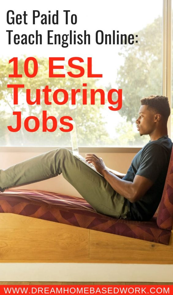 Did you know you could get paid to teach English online? If you are a person who loves helping others, an ESL tutor can be the perfect home-based job!