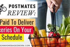 Postmates Review: Get Paid To Deliver Groceries On Your Own Schedule