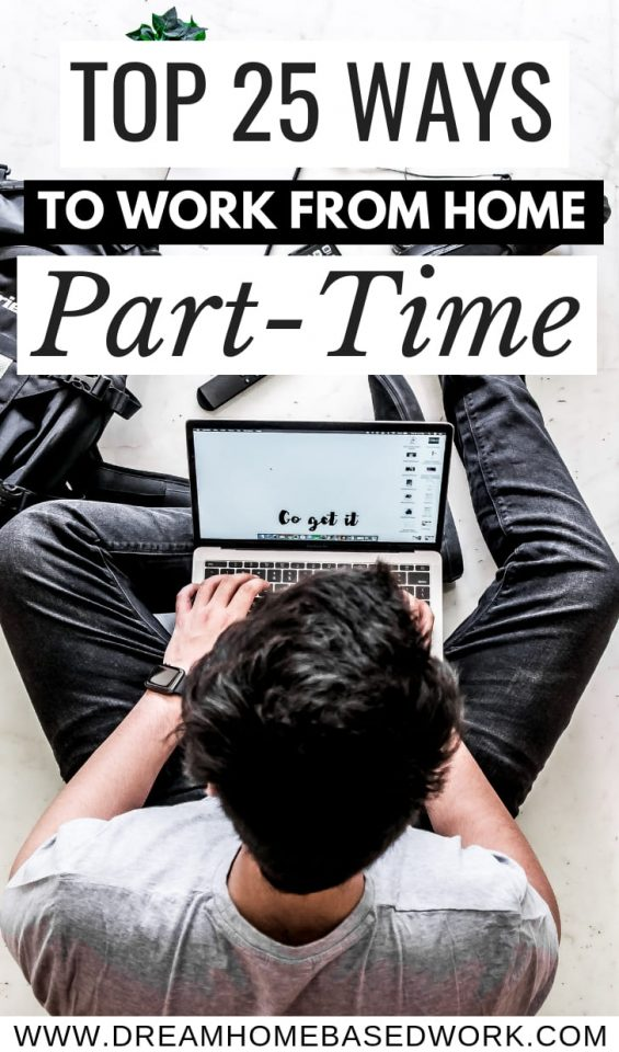 Want to work from home but are you only available to work the night shift? Here are 25 ways to find work at home part-time jobs at night.