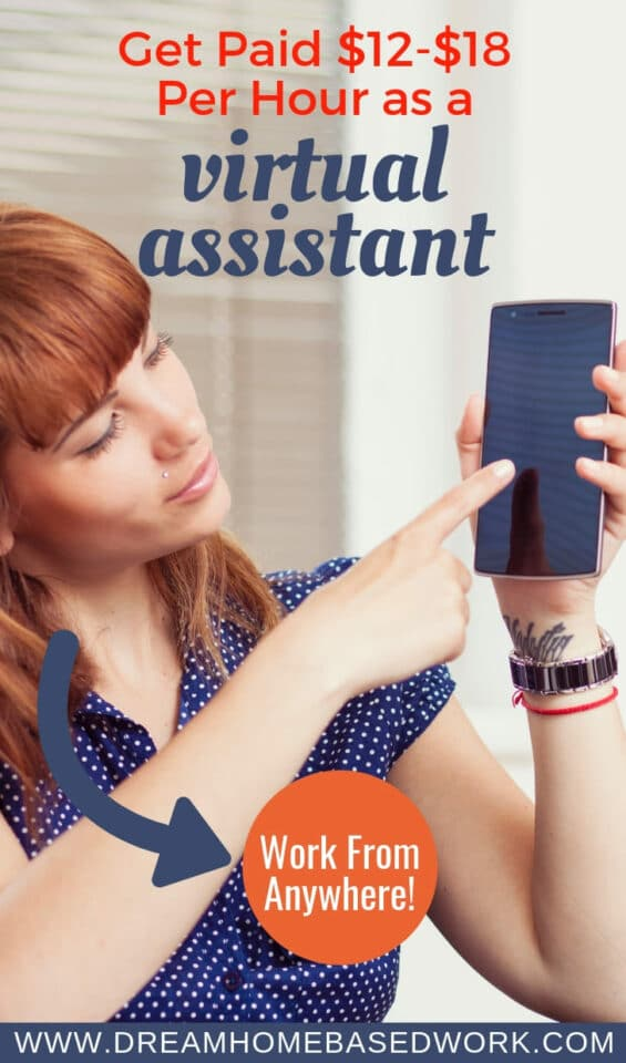 Get Paid $12-$18 Per Hour as a Virtual Assistant