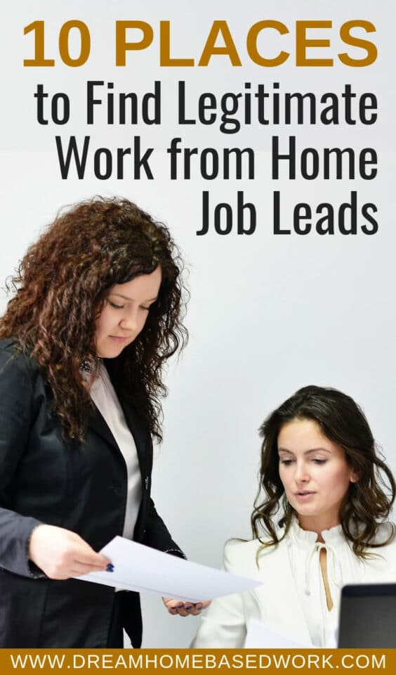 Where to find legitimate work from home jobs? Here is a list of where to find legitimate work from home jobs around the web. Avoid scams like a pro!