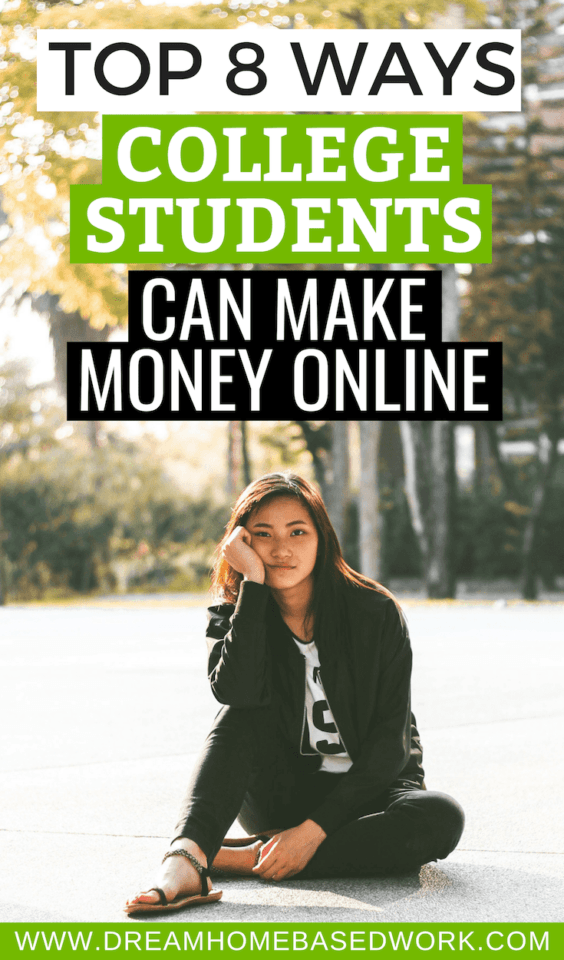There are a number of online jobs for college students. Learn how college students can make money online in customer service, data entry, writing, and more.