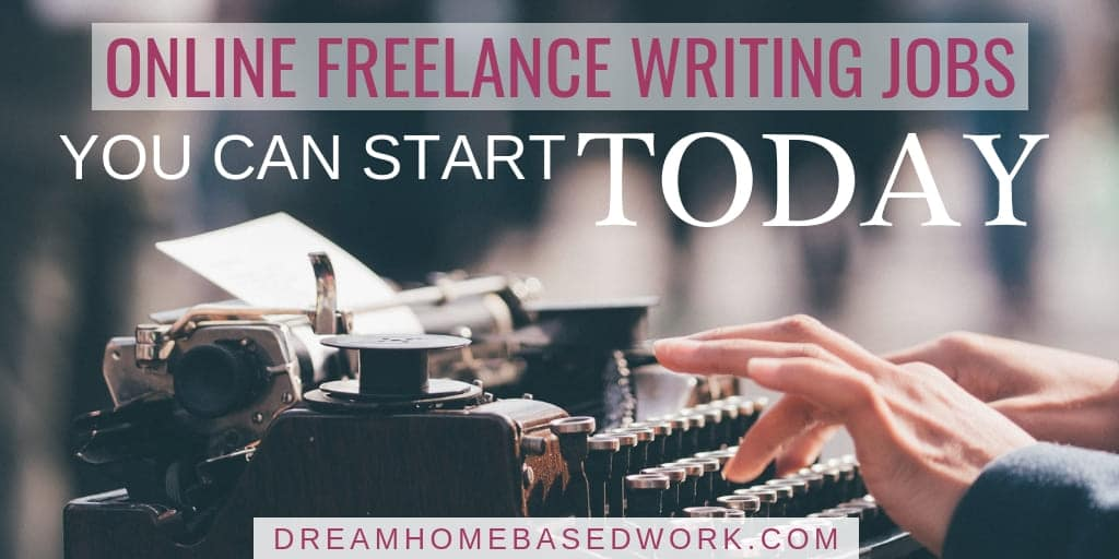 6 Legit Online Freelance Writing Jobs You Can Start Today