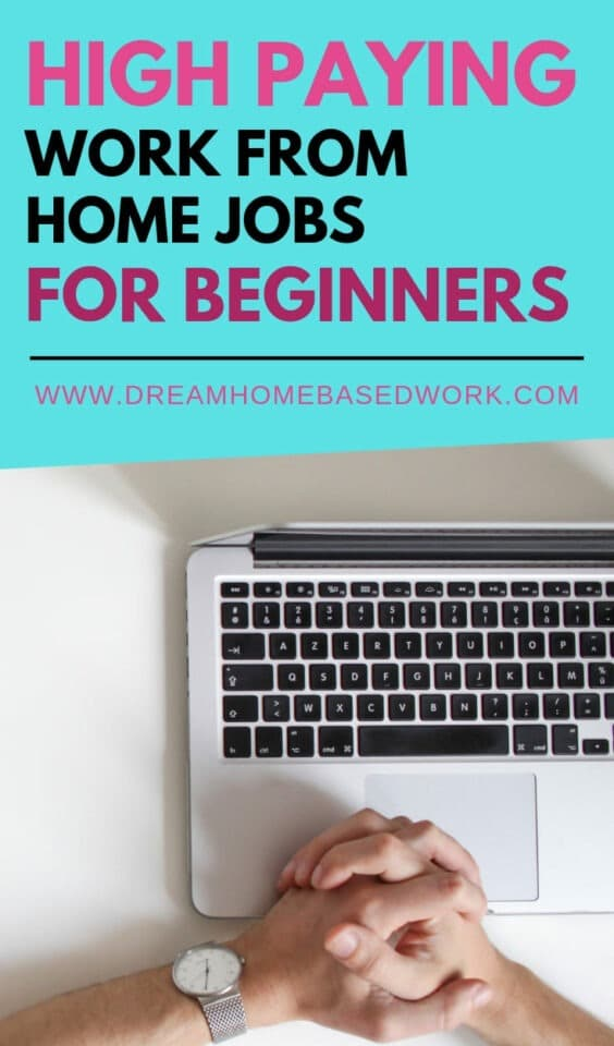 Looking for a work at home job for beginners? Check out these high-paying entry level jobs that you can do from home.
