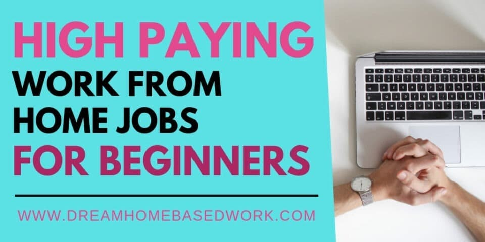Best High-Paying Entry Level Jobs You Can Do from Home
