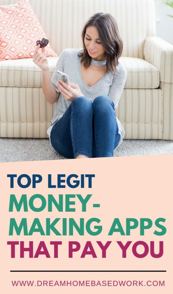 Do you spend a lot of time on your smartphone? Are you looking for ways to make some extra money? Check out these legit money-making apps that pay you.