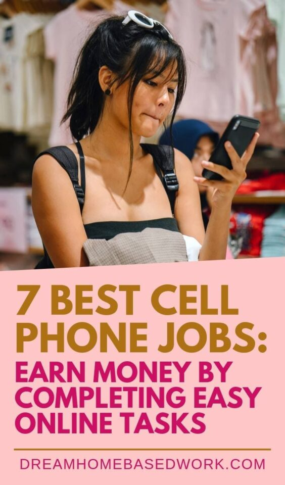 You can make money using your smartphone by simply completing easy tasks and jobs online. Check out this of 7 legit sites you can sign up with today!