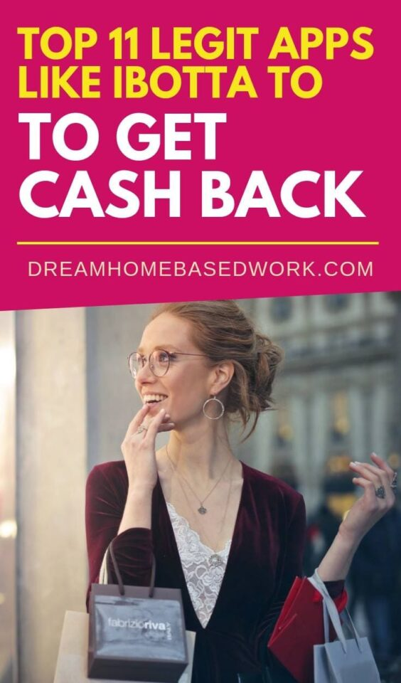Try one or more of these top 11 free money-saving apps like Ibotta to get cash back whenever you shop at your favorite grocery store or department store. #savings #ibotta #cashback #shopping #online