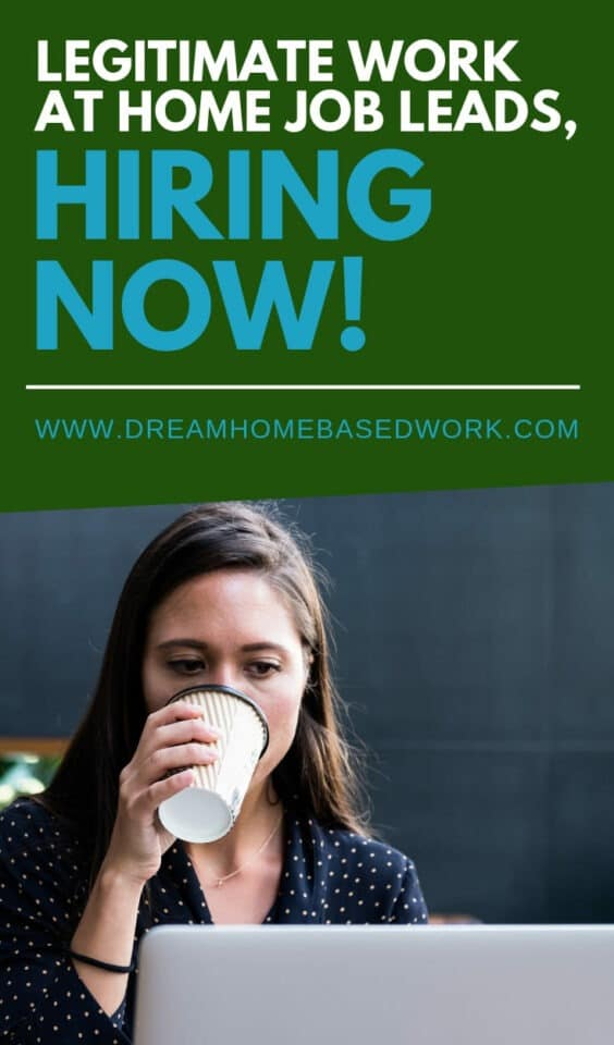 Are you searching for the newest work from home job leads? Find out which remote companies are actively hiring for part-time or full-time jobs online.
