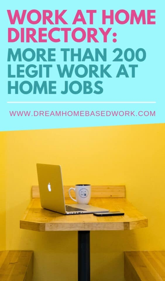 Free Work from Home Job Directory with more than 200 remote part-time, full-time, and freelance online jobs.