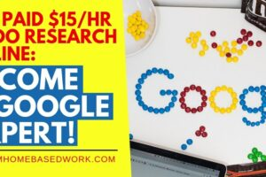 Get Paid $15/hr To Do Research Online: Become A Google Expert!