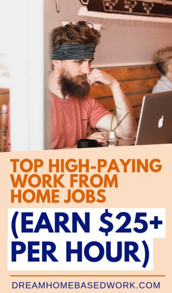 Have you ever wondered how much money you can make from home? There is literally a wide variety of high-paying work from home jobs for beginners and pros. #workfromhome #careers #onlinejobs #earnmoneyonline #jobs #makemoney