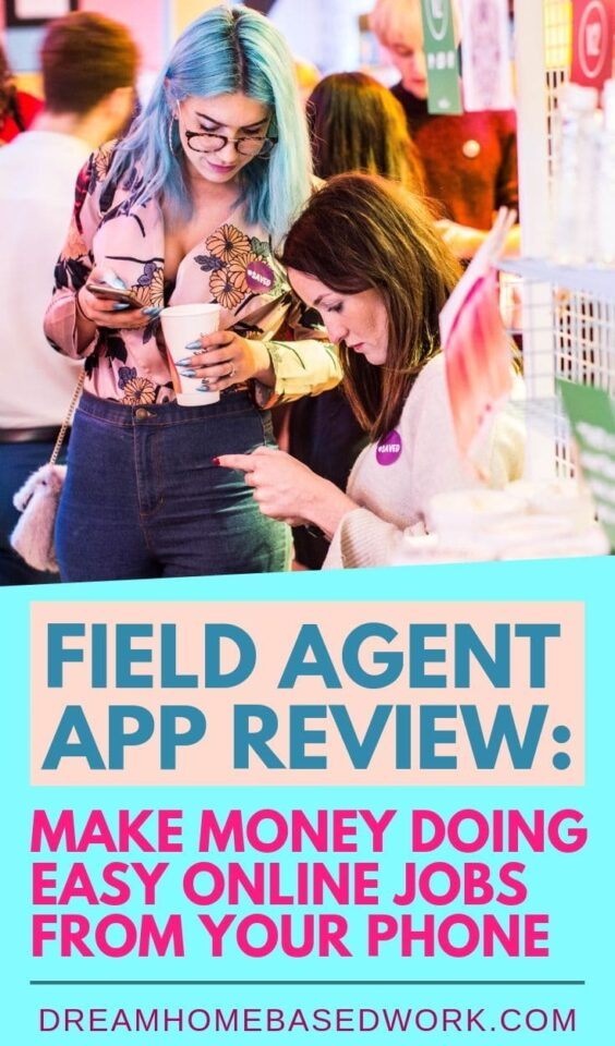Want to earn money by completing online jobs for your phone? Try the Field Agent app, a 100% legit way to earn some extra cash from anywhere!  #makemoneyonline #getpaid  #extracash