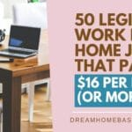 50 Legitimate Work from Home Jobs in 2020 That Pay Well