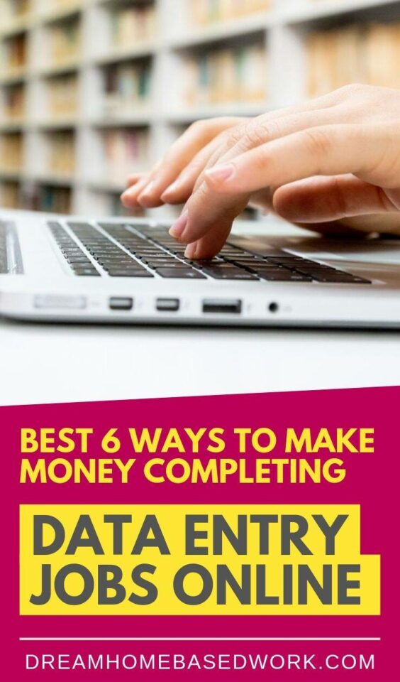 Want to make money completing data entry jobs online? Here are 6 of the best options to consider when getting started so you can work from home.
