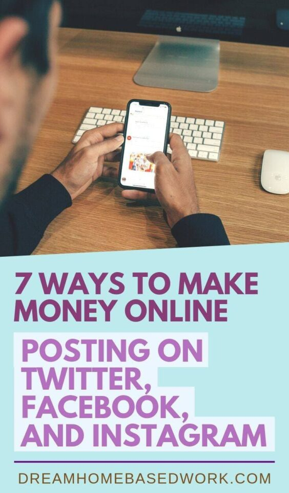 There are multiple ways to make money online posting on social media platforms like #Twitter,# Instagram, and #Facebook. Here's how to get started.