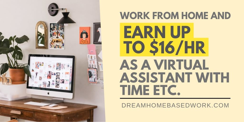 Time Etc. Review: Earn Up To $16/hr Online as a Virtual Assistant