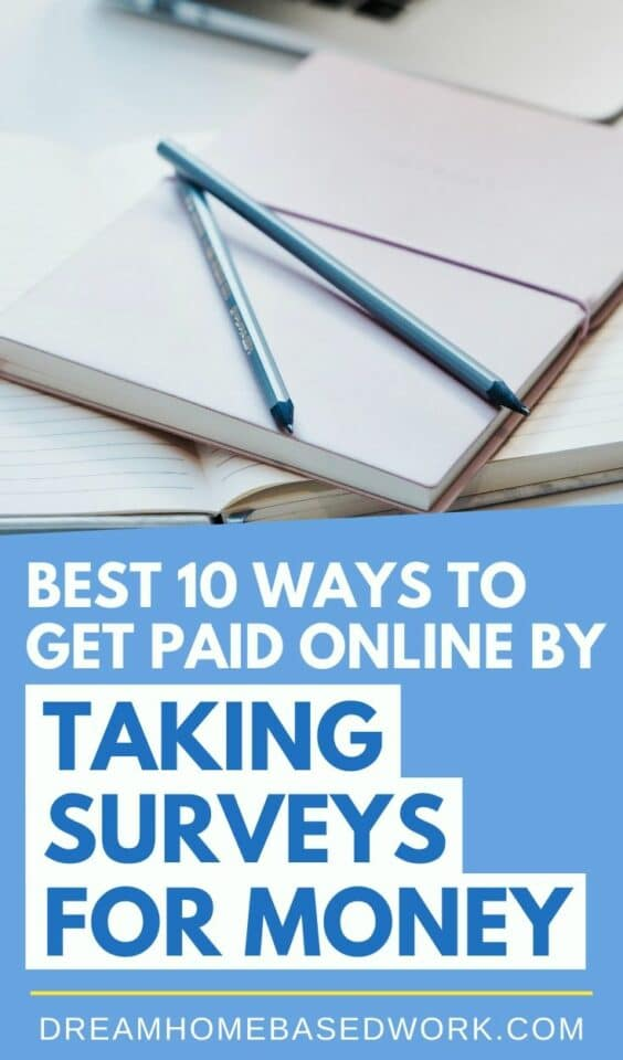 Are you looking for an easy way to get paid online by taking surveys for money? We've compiled a list of 10 paid survey sites you can start today!