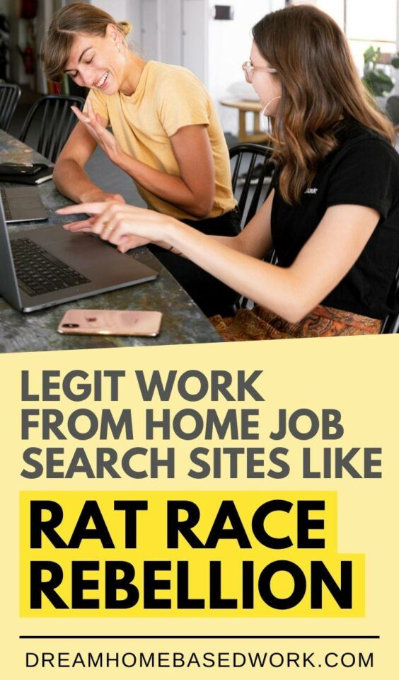 If you're looking for the most trusted work from home job leads, these online job board sites similar to Rat Race Rebellion are dedicated to helping you.