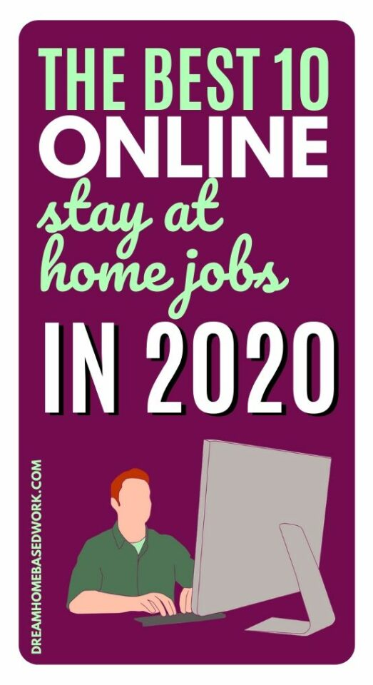 Looking for the best ways online stay at home jobs this year? You can make money from home no matter if you area stay at home mom, a student, or retiree. #stayathome #jobs #makemoneyonline #onlinejobs