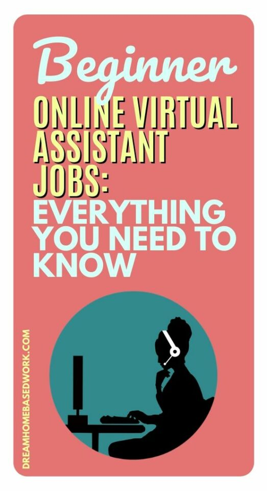 Beginner online virtual assistant jobs are becoming more popular now. Learn the skills you need and where to find legit Virtual Assistant jobs from home. #virtualassistant