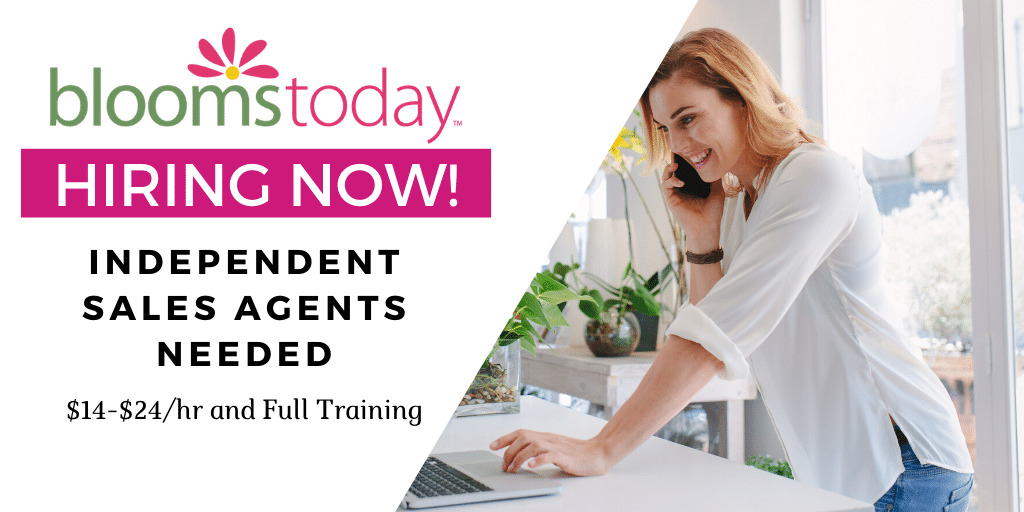 Read more about the article Blooms Today is Hiring Reps To Work from Home. Here's How To Apply