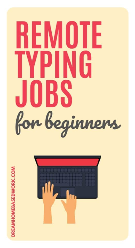 Remote typing jobs are a great way to make money online from home for beginners. If you're ready to start earning money typing, start applying today!