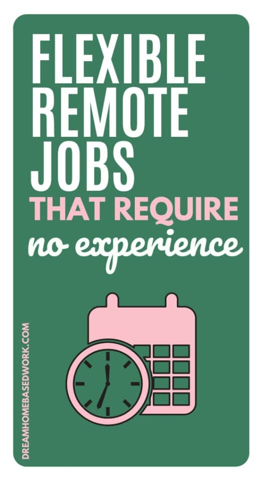 Looking to start working from home but don't know where to start? Here are 12 flexible remote jobs that require no experience to work from home.