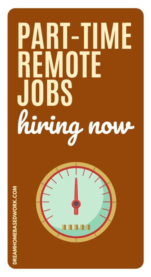 Whether you're looking to teach online, do customer service, or utilize your typing skills, check out this list of remote, part-time work at home jobs hiring now to help you get started.