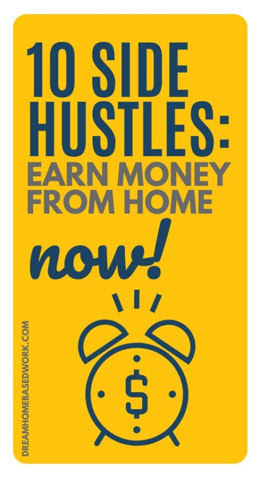 Interested in earning money right now? There are plenty of flexible side hustles you can do from the comfort of your own home.