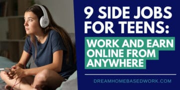 9 Side Jobs for Teens: Work and Earn Online from Anywhere