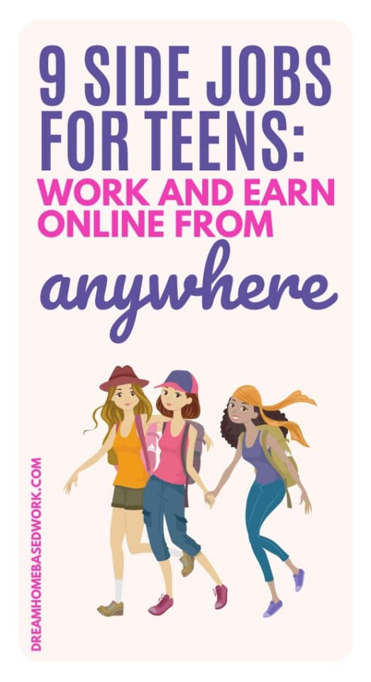 Looking for flexible side jobs for teens? Here are 9 of the best ways to work flexibly and earn money online from anywhere