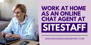 Work at Home Online Chat Agent Sitestaff