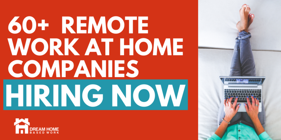 60 work at home companies hiring now fb