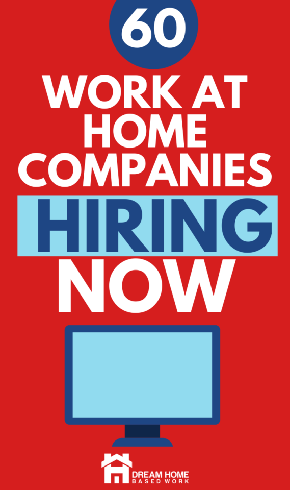 This massive list of work from home companies hiring NOW will help you know where to start your search. Don't wait, apply today!