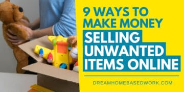 9 Ways to Make Money Selling Unwanted Items Online