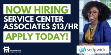 Sedgwick Service Center Associates 13 an Hour