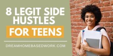 8 Legit Side Hustles For Teens