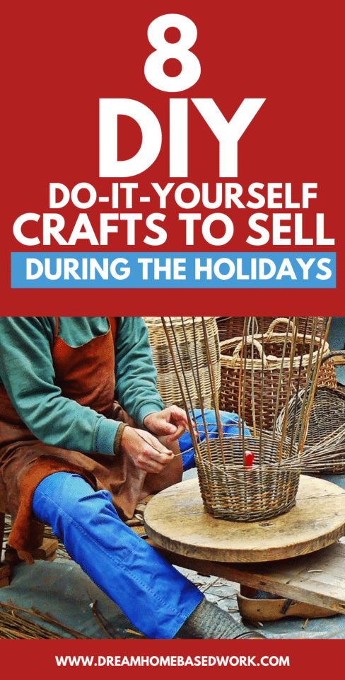 One of the best things that you can do to make some extra cash for the holiday season is to sell your own handmade crafts. Try these fun ideas!